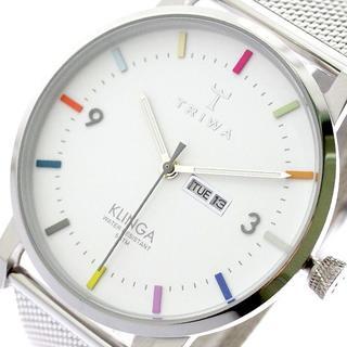 トリワ(TRIWA)のトリワ KLST115-ME021212 クォーツ ホワイト シルバー(腕時計)