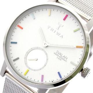 トリワ(TRIWA)のトリワ SVST107-MS121212 クォーツ ホワイト シルバー(腕時計)