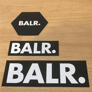 BALR.ステッカー3点セット