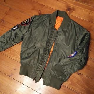 アルファ(alpha)のALPHA MA1 アルファ子供用ミリタリージャケット130~145くらい(ジャケット/上着)