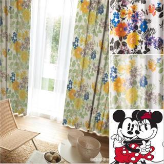 ディズニー(Disney)の由佳世1113さま専用 新品未使用 Disneyカーテン 100×200(カーテン)