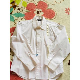 コムサイズム(COMME CA ISM)のコムサ☆ワイシャツ☆130センチ☆ネクタイ付(ブラウス)