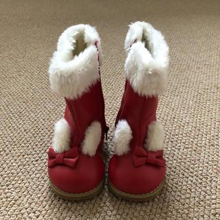 シャーリーテンプル(Shirley Temple)のシャーリーテンプル ブーツ 13センチ(ブーツ)
