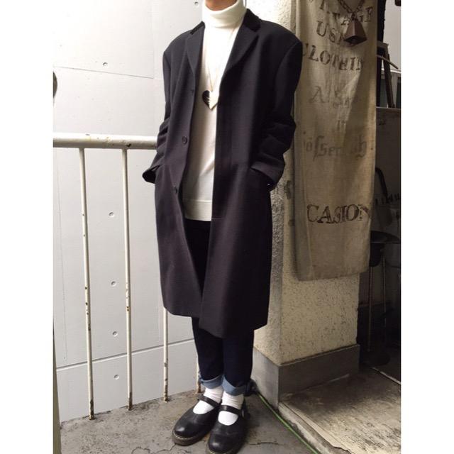 KATHARINE HAMNETT(キャサリンハムネット)のキャサリンハムネット ロングコート メンズのジャケット/アウター(チェスターコート)の商品写真