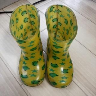 長靴 カエル 14㎝(長靴/レインシューズ)