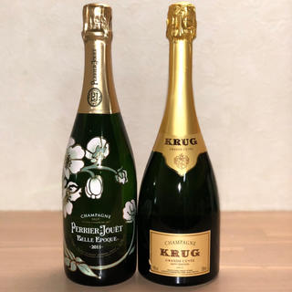 クリュッグ(Krug)のクリュッグ  ベルエポック 2本セット(シャンパン/スパークリングワイン)