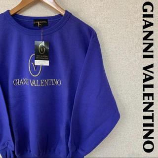 ジャンニバレンチノ(GIANNI VALENTINO)のGIANNI VALENTINO スウェット トレーナー デカロゴ 1204(スウェット)