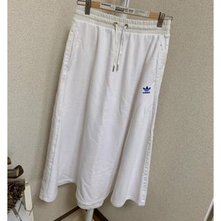 アディダス(adidas)のadidas  レア ロングスカート(ロングスカート)
