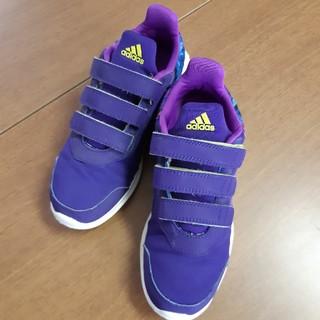 アディダス(adidas)のadidas アディダス キッズ シューズ 22㎝ USED(スニーカー)