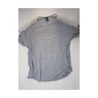 ダブルスタンダードクロージング(DOUBLE STANDARD CLOTHING)のダブルスタンダード Sov. レースカットソー(カットソー(半袖/袖なし))