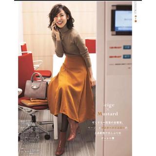 デミルクスビームス(Demi-Luxe BEAMS)のデミルクスビームス   フロントフレアスカート(ひざ丈スカート)