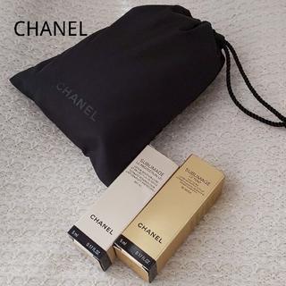 hot sale online 88122 9dc6e CHANELサンプル・ロゴ巾着つき