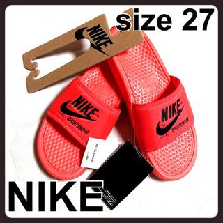 ナイキ(NIKE)のNIKE ナイキ ベナッシ size27(サンダル)