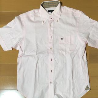 BURBERRY BLACK LABEL - 美品 バーバリー バーバリー ブラックレーベル 半袖 シャツ