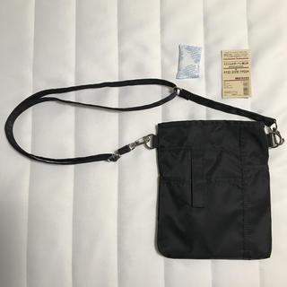 ムジルシリョウヒン(MUJI (無印良品))の無印 ミニショルダーペン差し付 シザーバッグ 未使用品(ボディバッグ/ウエストポーチ)