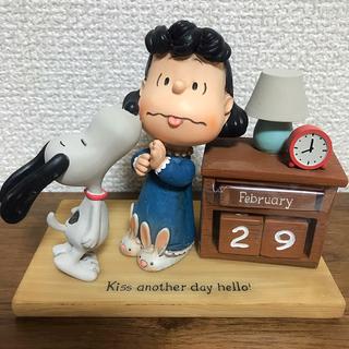 スヌーピー(SNOOPY)のスヌーピー フィギュア 万年カレンダー ホールマーク Hallmark(アメコミ)