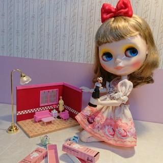 Barbieミニドールコレクションのハウス(ミニチュア)