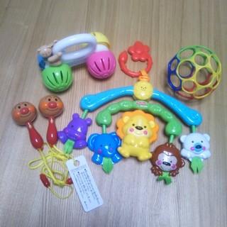 フィッシャープライス(Fisher-Price)のおもちゃ 5点セット(がらがら/ラトル)