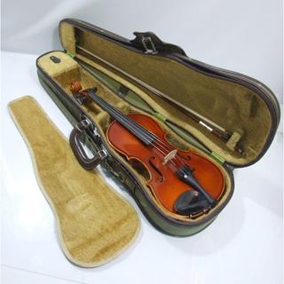 ハンガリー 製 バイオリン 分数 1/2 虎杢 未使用 弓