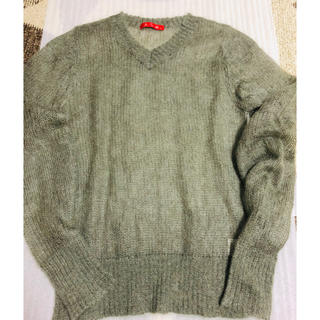 エイエスエム(A.S.M ATELIER SAB MEN)のA・S・M  Vネックセーター  購入価格6900円 (ニット/セーター)