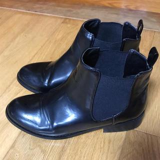 ナチュラルビューティーベーシック(NATURAL BEAUTY BASIC)の美品 サイドゴアブーツ(ブーツ)