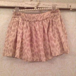 デイシー(deicy)の淡いレオパード ♡ スカート(ミニスカート)