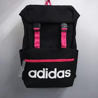 アディダス(adidas)の新品 アディダス キッズ リュックサック・ブラック・13L(リュックサック)
