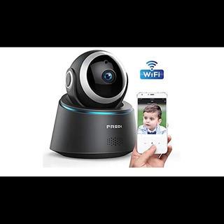 FREDI 無線WiFi 防犯カメラ 監視カメラ 高画質HDベビーモニター(防犯カメラ)
