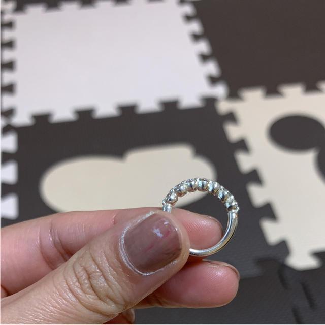 TAKE-UP(テイクアップ)のしっぽ『プロフ必読』様専用シルバー925  キュービックメレリング レディースのアクセサリー(リング(指輪))の商品写真