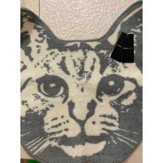 フランフラン(Francfranc)のフランフラン 猫 バスマット 新品未使用(トイレマット)
