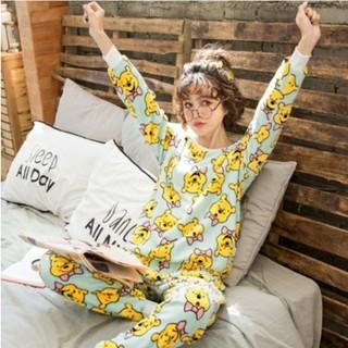 ディズニー(Disney)のプーさん パジャマ ふわふわ マイクロファイバー pooh 部屋着 ルームウェア(パジャマ)