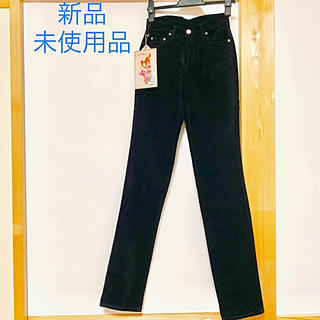 シマロン(CIMARRON)のシマロン 美脚スキニーパンツ コーデュロイ  黒色(スキニーパンツ)