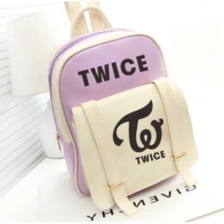 大人気 TWICE リュック パープル トワイス トゥワイス バッグ カバン 鞄(アイドル)