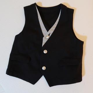 コムサイズム(COMME CA ISM)のコムサイズムベスト80サイズ(セレモニードレス/スーツ)