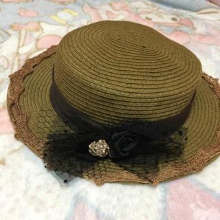 axes femme - axes カンカン帽(美品)