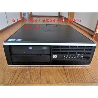 ヒューレットパッカード(HP)の☆ジャンク【中古・動作品】・HP Compaq8100・i5 650☆送料込み(デスクトップ型PC)