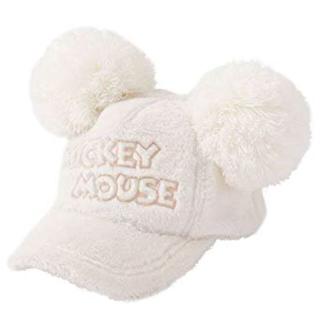 Disney - ディズニー ミッキー ボンボン 白帽子 ♡美品