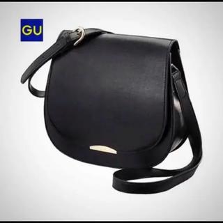 ジーユー(GU)の新品タグ付き GU サドルショルダーバッグ(ショルダーバッグ)