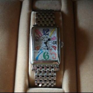 フランクミュラー(FRANCK MULLER)のフランク・ミュラー カラードリーム ロングアイランド(腕時計)