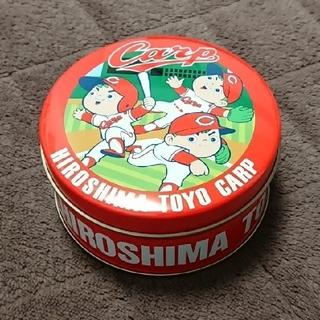 ヒロシマトウヨウカープ(広島東洋カープ)の広島カープ お菓子 ミニ空き缶(小物入れ)