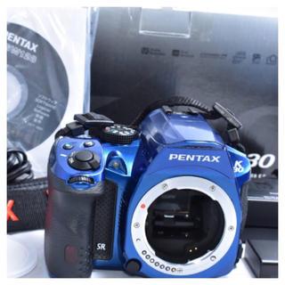ペンタックス(PENTAX)のPentax k-30 クリスタルブルー ボディ(デジタル一眼)