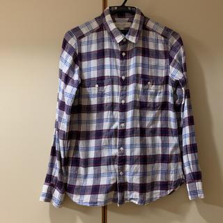ビューティアンドユースユナイテッドアローズ(BEAUTY&YOUTH UNITED ARROWS)の薄手のネルシャツです。(シャツ/ブラウス(長袖/七分))