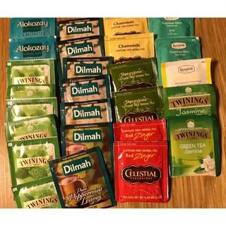 妊活 ノンカフェイン ハーブティ twinings dilmah など 26袋(茶)