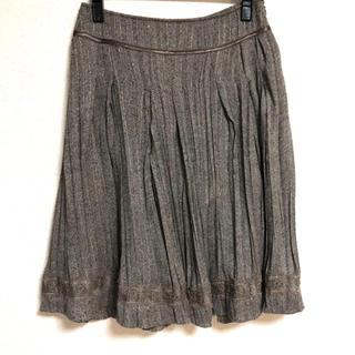 アバハウスドゥヴィネット(Abahouse Devinette)の【Abahouse Devinette】プリーツスカート(ひざ丈スカート)