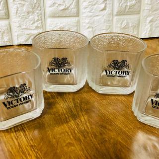 オーシャンウイスキー コップ4個セット