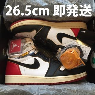 ナイキ(NIKE)の26.5cm NIKE AIR JORDAN 1 RETRO HI UNION(スニーカー)