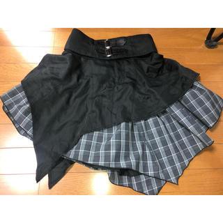 アルゴンキン(ALGONQUINS)のアルゴンキン アシメスカート(ひざ丈スカート)
