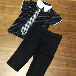 ◆シャツ パンツ 上下セット フオーマルにも◆