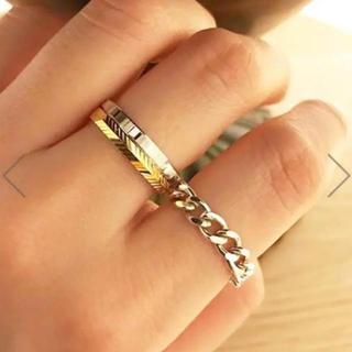 エナソルーナ(Enasoluna)の【SALE】エナソルーナ カットリング シルバー 新品(リング(指輪))