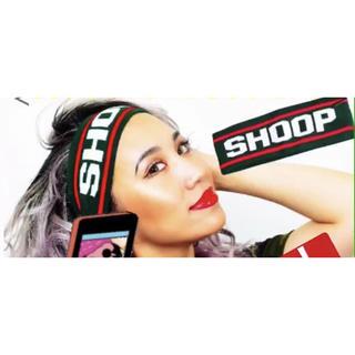 シュープ(SHOOP)のSHOOP❤︎新品❤︎非売品(ヘアバンド)
